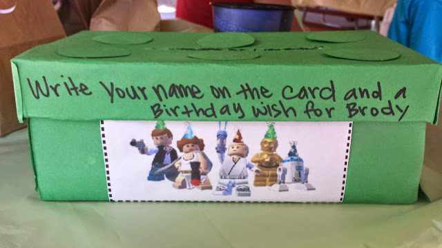 B is 4 Brodys Lego Star Wars Birthday Party Part 2 – Lego Star Wars Birthday Cards