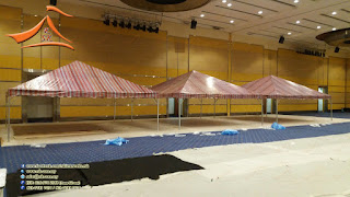 Our client have requested for setup a #pyramid #canopy 20'x20' custom batik design #canvas.    For more information you may call / Whatsapp / SMS to 0169749366 (Mr. Prem)