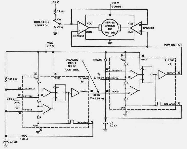 siren driver circuit schematic diagram
