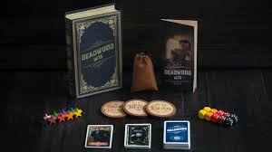 Dead wood 1876 boîte de jeu et image