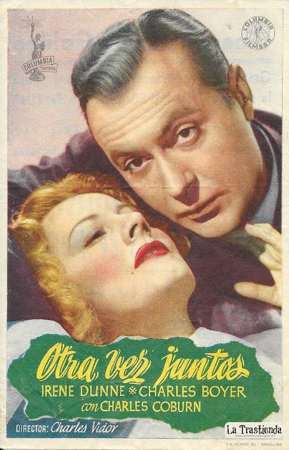 Otra Vez Juntos - Programa de Cine - Irene Dunne - Charles Boyer