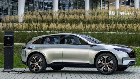Next-gen Mercedes-Benz EQ concept SUV