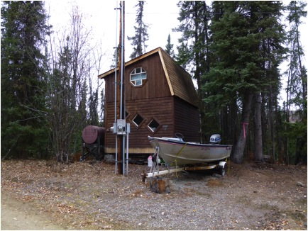 Rosebud Tiny Home Alaska The Land Of The Creative Small