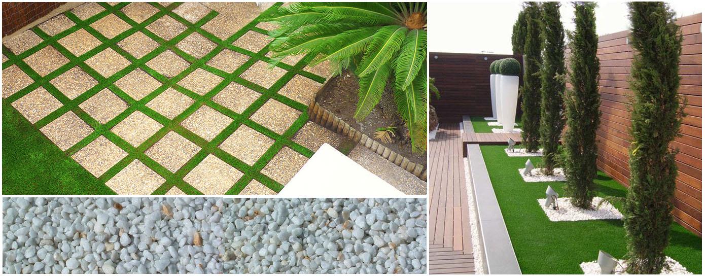 Jardines con c sped artificial recursos interior autocad descargas dwg ideas dise o - Cesped artificial en valencia ...