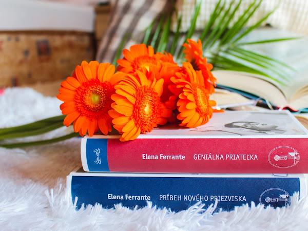 Geniálna priateľka + Príbeh nového priezviska - Elena Ferrante