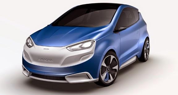 Magna Steyr'in Mila Blue adlı konsept otomobili