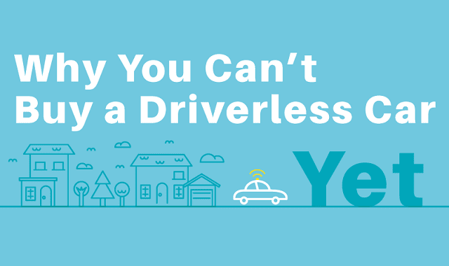 Why You Can't Buy a Driverless Car Yet