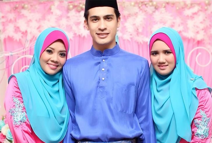 Inilah Cara Ashraf Muslim Menjaga Hati Kedua-Dua Isteri Ketika Hari Raya