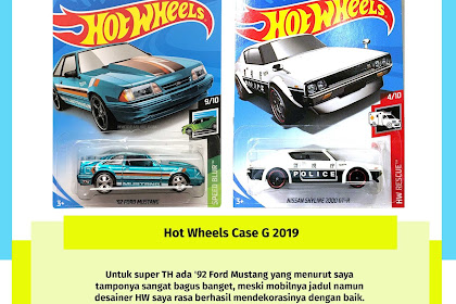 Hot Wheels Case G 2019 (Si Imut Porsche Carrera)