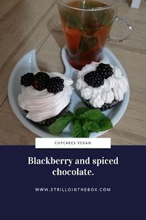 cupcake+blackberry+chocolate+vegan