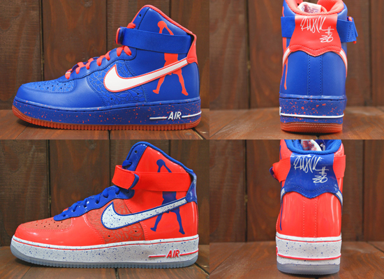 on sale 58492 828d8 new arrivals nike air force 1 all blue highlighter dd47b eaa