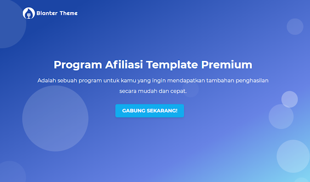 Program Afiliasi Template Premium