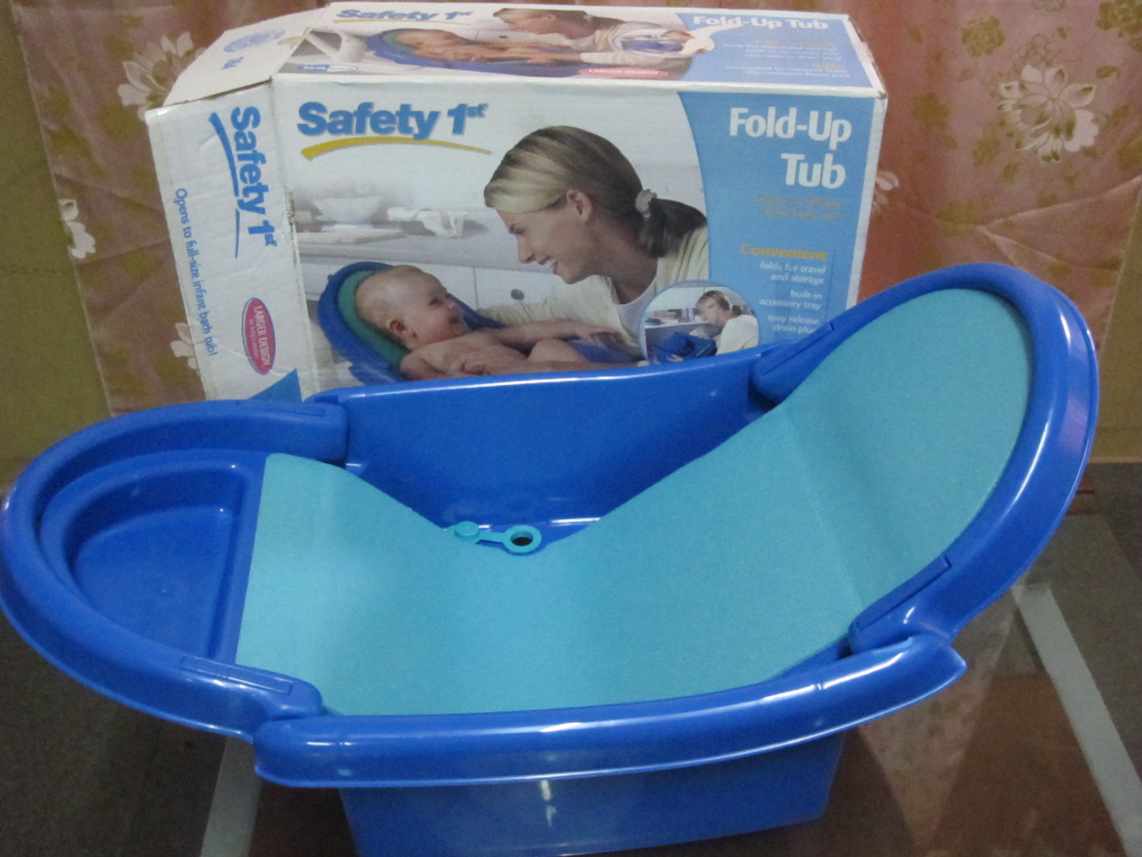 Amy Sweety Store New Safety 1st Foldable Bath Tub