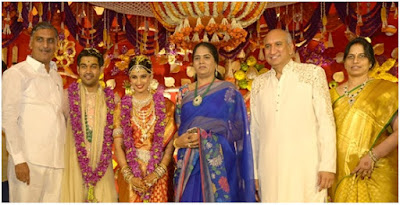 Bride-groom with family