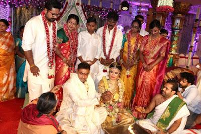 Actress Radhika Sarathkumar daughter Wedding Album