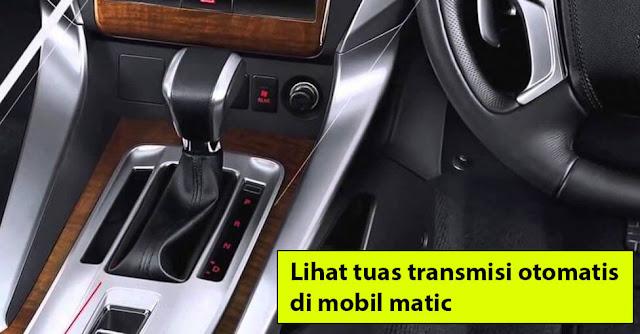 cara mengemudi mobil matic pajero sport