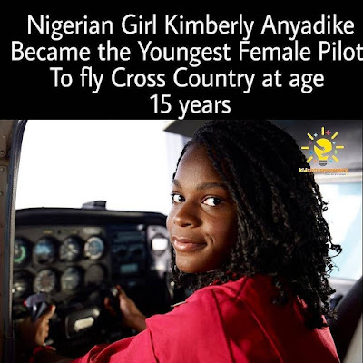 Amazing! Meet the youngest female pilot to complete the cross country journey