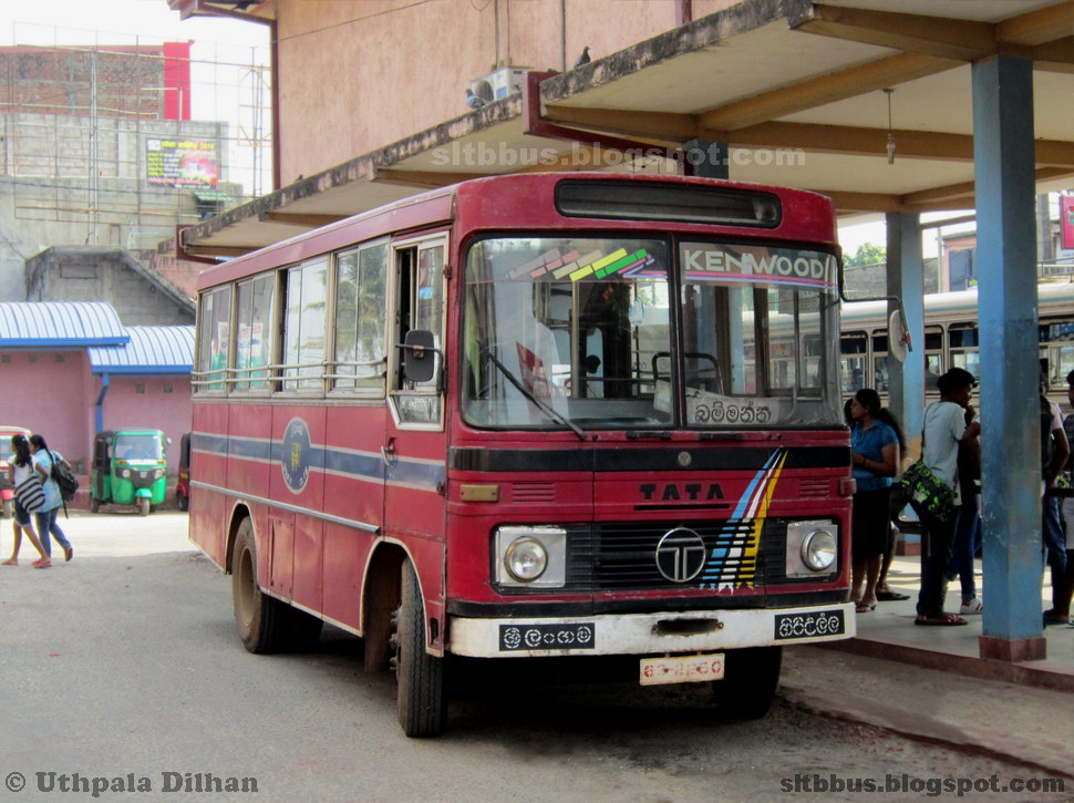 Ruby Bodied Tata Lp 909 36 Bus From Sltb Giriulla Depot