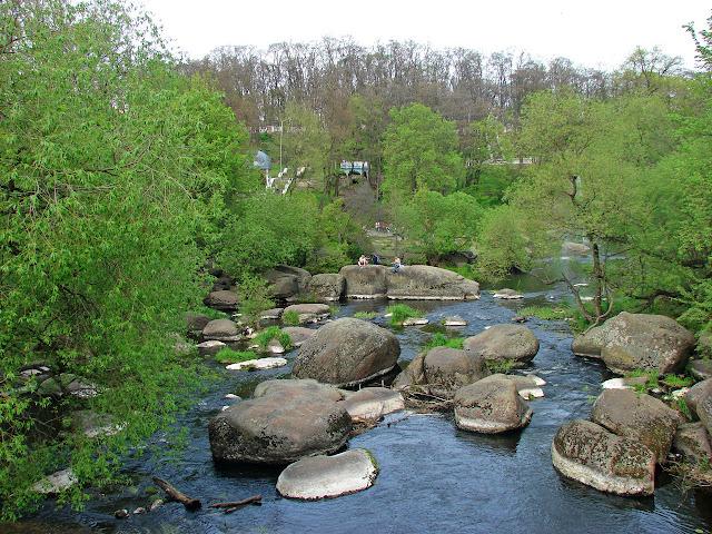 Коростень, парк имени Островского