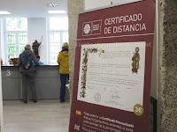 Potvrda i certifikat duljine puta camino de Santiago Norte Sjeverni put slike psihoputologija