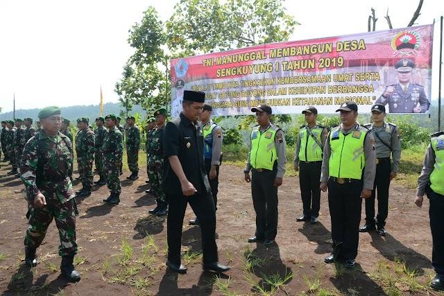 Wakil Bupati Brebes Apresiasi TNI manunggal Membangun Desa