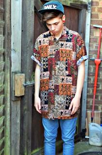 Model Batik Primitivisme pria