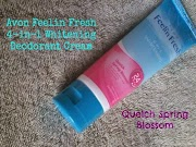 Avon Feelin Fresh 4-in-1 Whitening Deodorant Cream #ProductReview #Avon