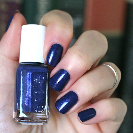 Its Self Leveling And Opaque In One Coat But Not Thick I Really Love Matte Navy Nails That This Has A Bit Of Something Extra