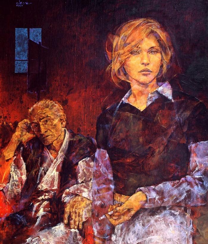 Французский художник. Fabien Clesse