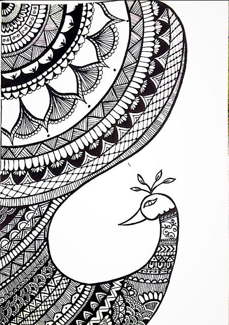Sketch art mandala