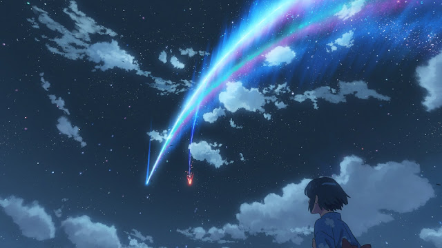 Your name Mitsuha cometa