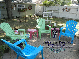 Fairytale Frosting Drinks On The Patio