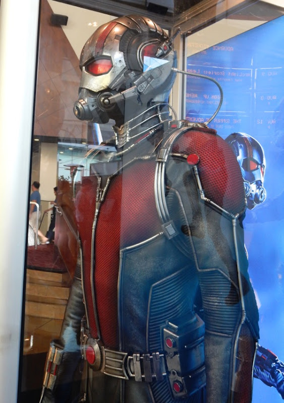 AntMan movie costume detail