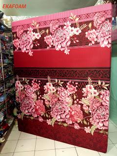 kasur inoac bunga diva merah