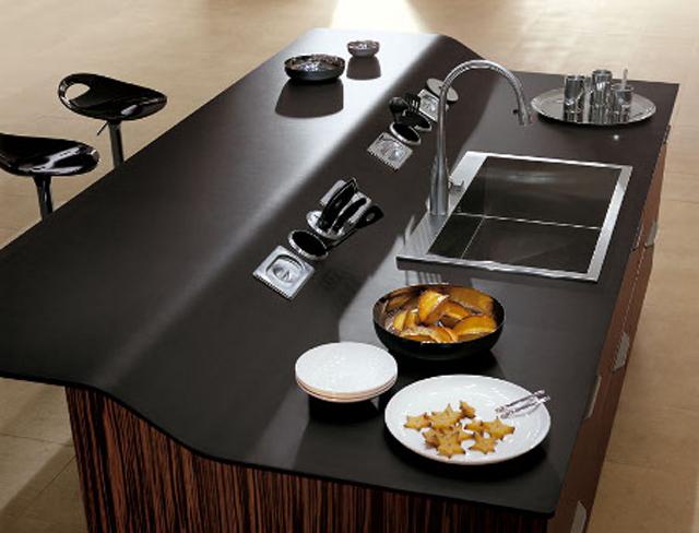C mo integrar una mesa en la cocina cocinas con estilo - Altura barra cocina ...