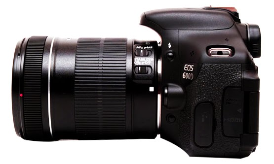 Harga dan Spesifikasi Kamera DSLR Canon EOS 600D Baru 2015