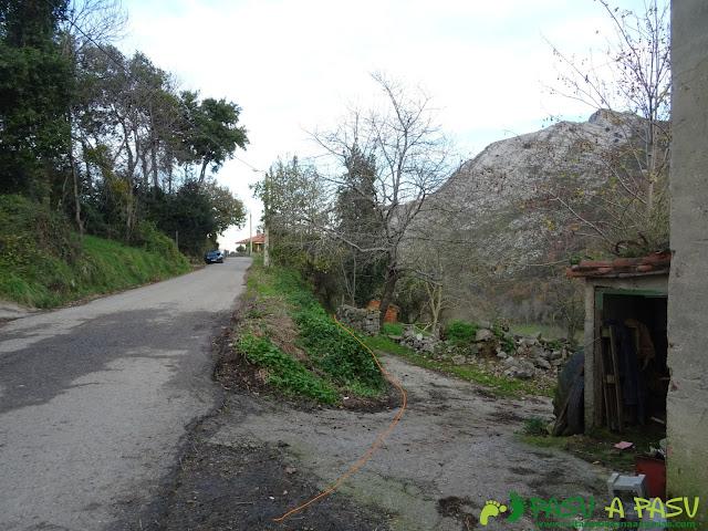 Ruta al Cerro Llabres: Desvío en Rioseco