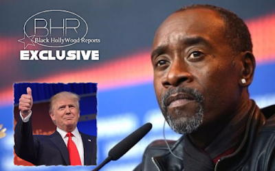 Actor Don Cheadle Reveals President Trump Used A Racial Slur On Golf Course