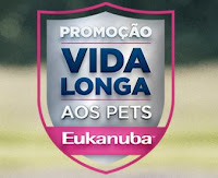 Promoção 'Vida longa aos pets' Eukanuba vidalongaaospets.com.br