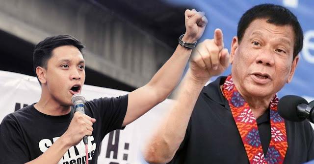 Anakbayan Vencer hits Duterte | Ito Cheap lang naman na diktador walang ibubuga ito.