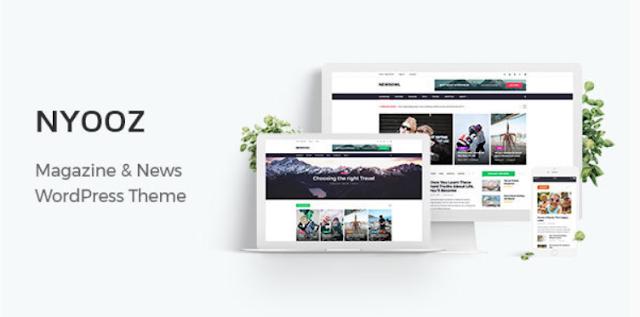 NYOOZ - Magazine WordPress Theme