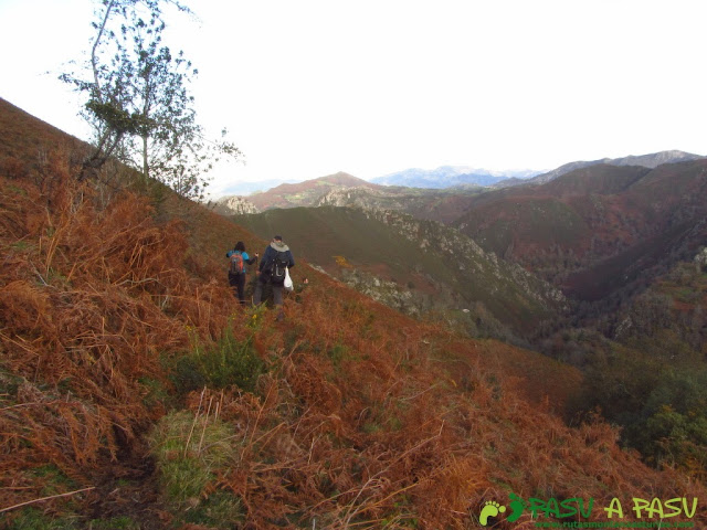 Sendero hacia Ordiales desde Barovena