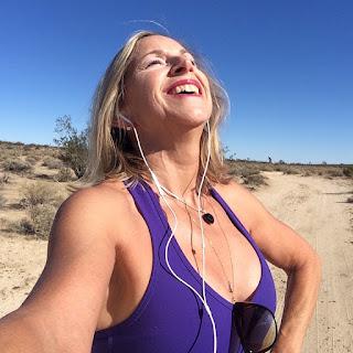 Dancing in the desert, deep breathing