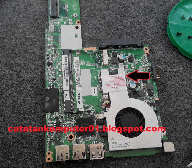 Mengatasi Bluescreen Hardware Malfunction Pada Netbook Catatan