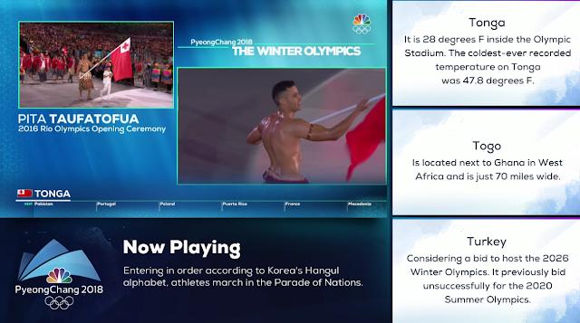 PyeongChang 2018 Winter Olympics Opening Ceremony Pita Taufatofua oil bare chest Tonga shirtless Rio