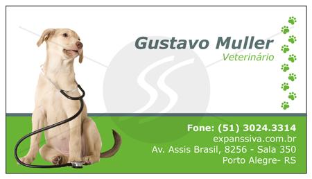 cartoes de visita veterinarios 06 - 15 lindos Cartões de Visita de Veterinários