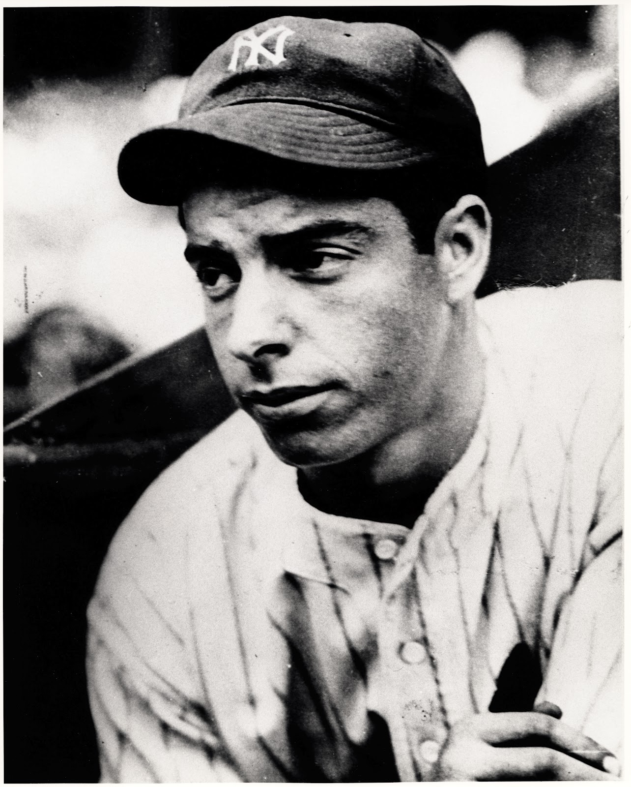 Arnold Schwarzenegger Famous People Ever: Joe DiMaggio