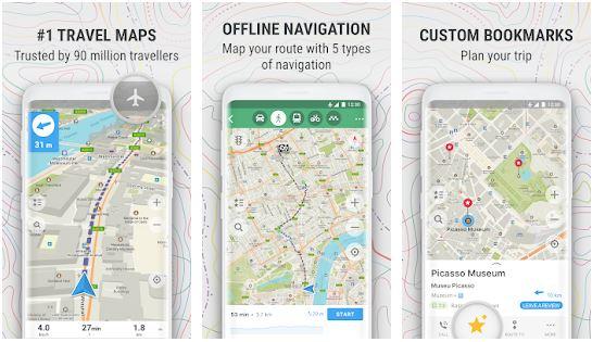 تطبيق-Maps.me