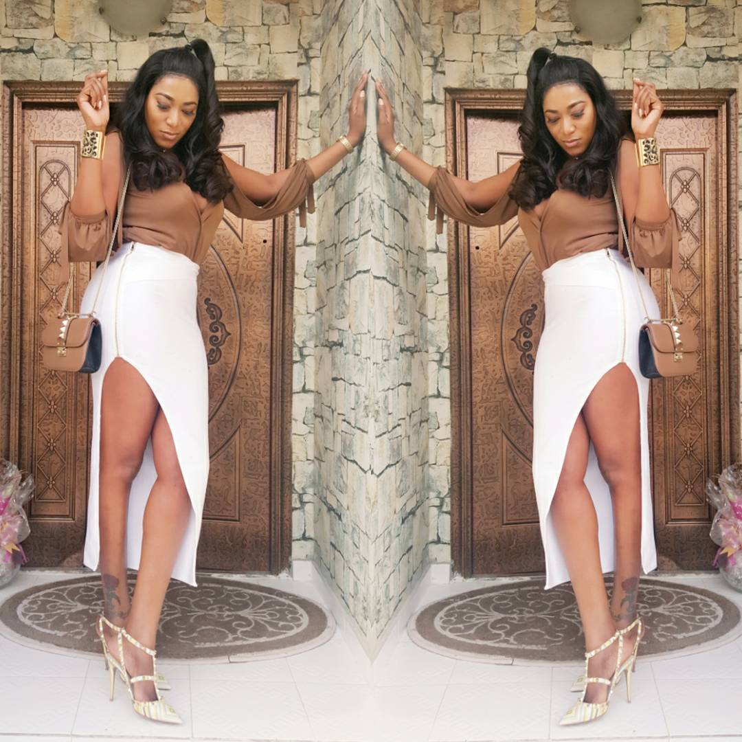 Chika ike chika ike shows off her new look diamond celebrities - The Actress Shared The Photos On Instagram See More Below