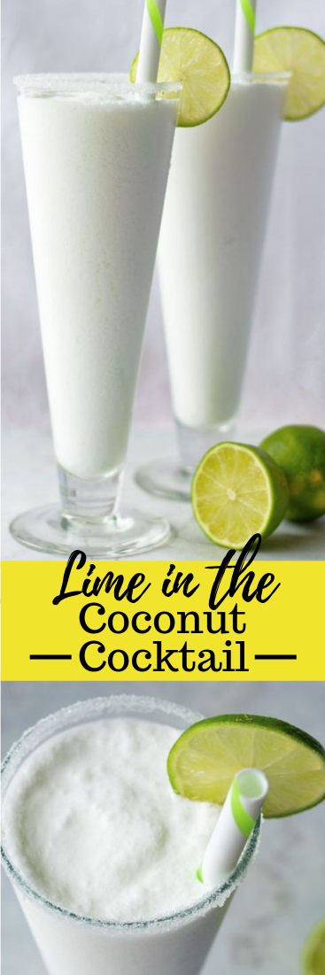 Lime in the Coconut Cocktail Recipe #drink
